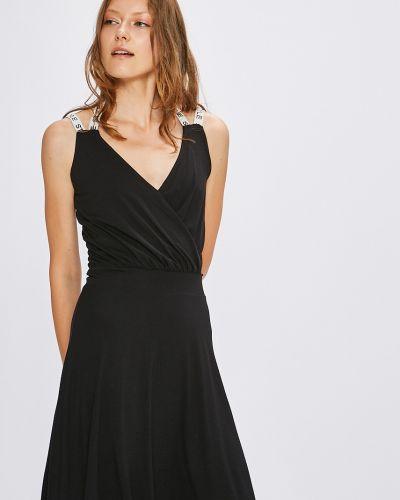 Платье мини с запахом из вискозы Miss Poem