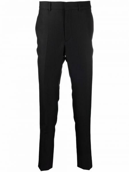 Czarny garnitur z paskiem Sandro Paris
