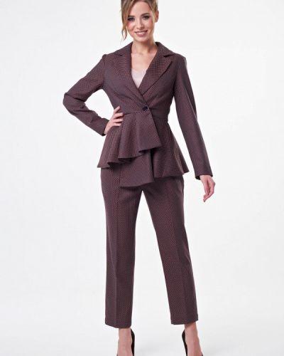 Брючный костюм коричневый Irma Dressy