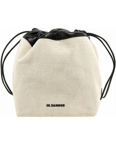 Beżowa torba na ramię Jil Sander