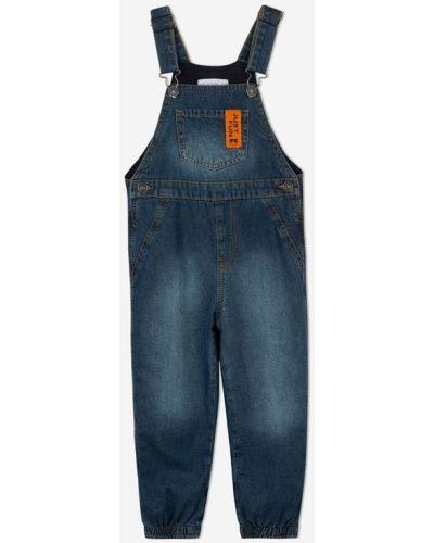 Джинсовый комбинезон - синий Gloria Jeans