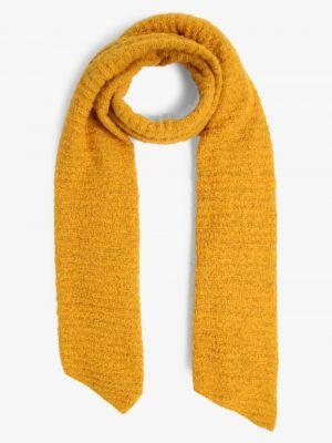 Złoty żółty szalik Pieces