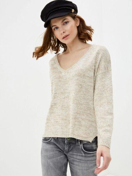 Бежевый свитер Nice & Chic