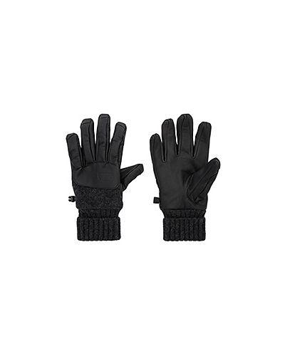 Кожаные перчатки текстильные кашемировые The North Face