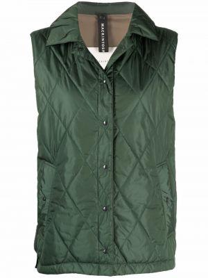 Зеленая жилетка без рукавов Mackintosh