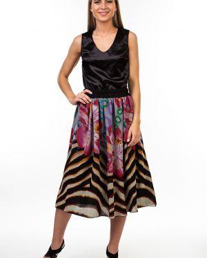 Шифоновая юбка - черная Kapsula