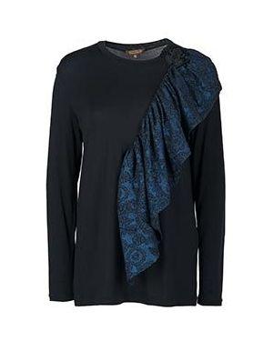 Блузка черная Via Torriani 88
