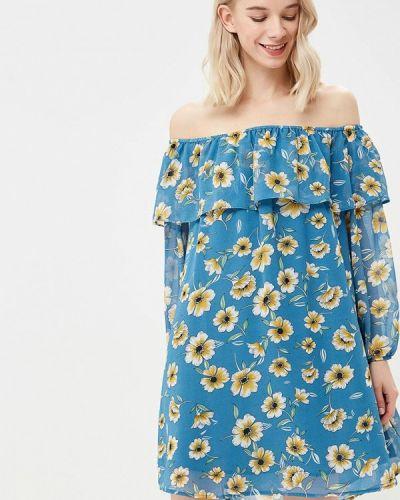 Платье с открытыми плечами весеннее Glamorous