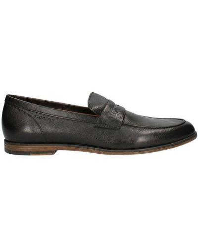 Czarne loafers Stonefly