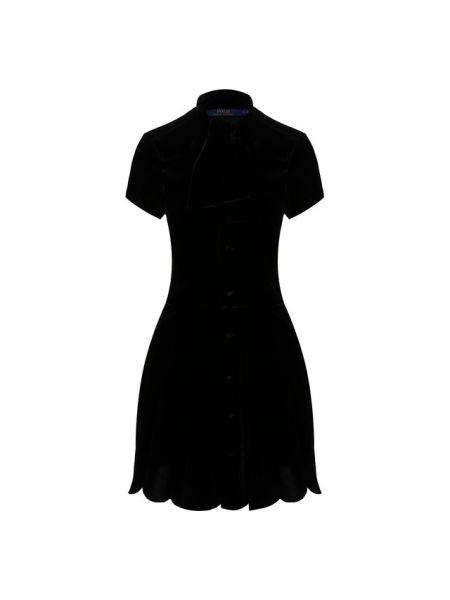 Платье платье-рубашка с воротником Polo Ralph Lauren