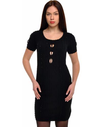 Кашемировое платье - черное John Richmond