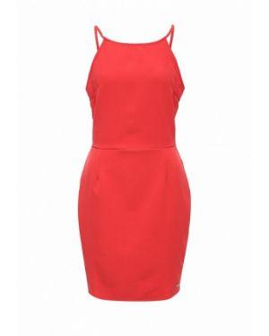 Платье весеннее красный Coquelicot