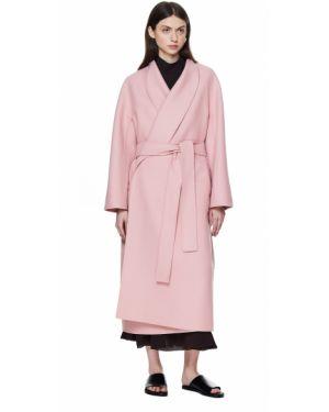 Кашемировое пальто с поясом The Row