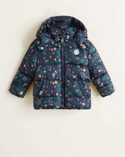Куртка прямая с капюшоном Mango Kids