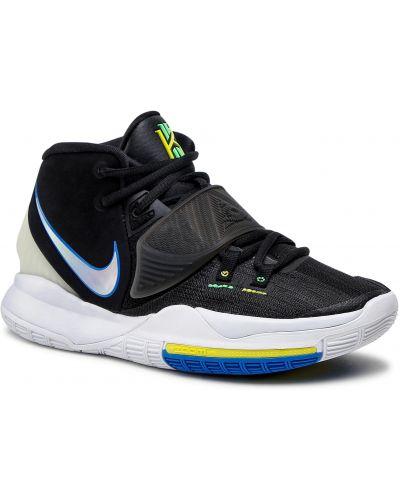 Buty sportowe skorzane - białe Nike
