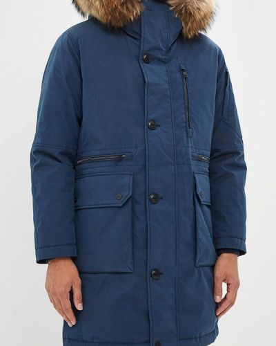 Зимняя куртка осенняя синяя Duno