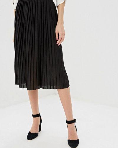Плиссированная юбка черная Haily's