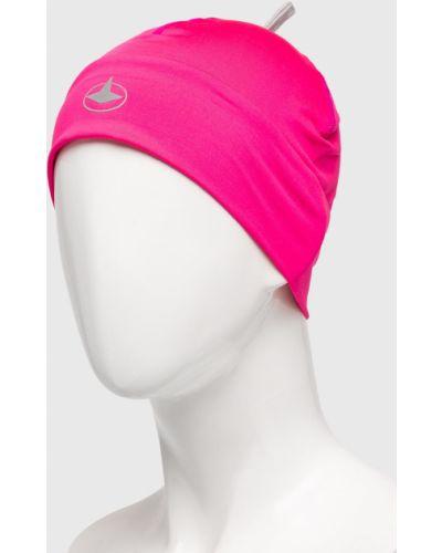 Зимняя шапка из джерси розовый Viking