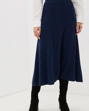 Платье осеннее синее Rodier