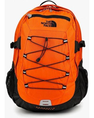 Оранжевый рюкзак городской The North Face