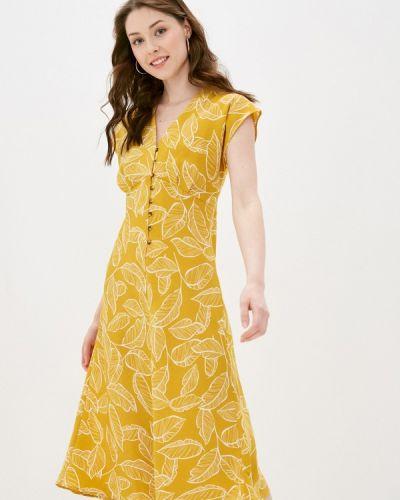 Платье - желтое Zarina