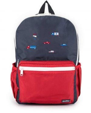Рюкзак красный темно-синий Familiar