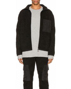 Czarna kurtka jeansowa bawełniana vintage Zanerobe
