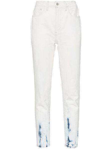 Klasyczne niebieskie jeansy z wysokim stanem Jordache