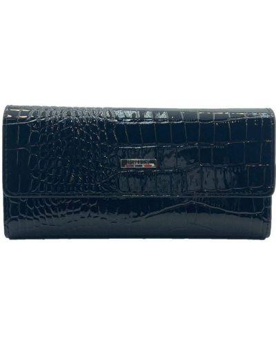 Кожаный кошелек - черный Butun
