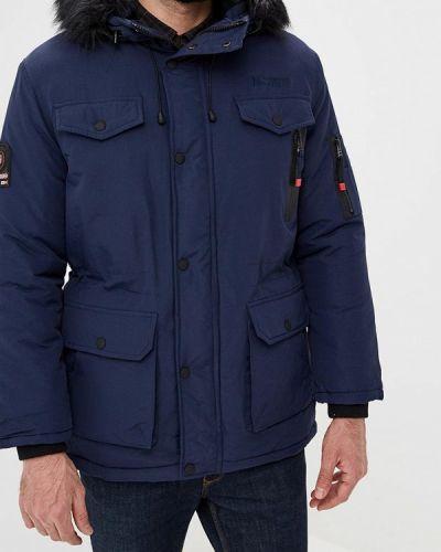 Зимняя куртка утепленная синяя Geographical Norway