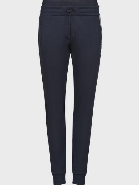 Хлопковые синие спортивные брюки Colmar Originals