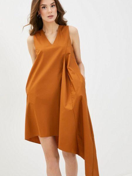 Платье - коричневое Massimiliano Bini