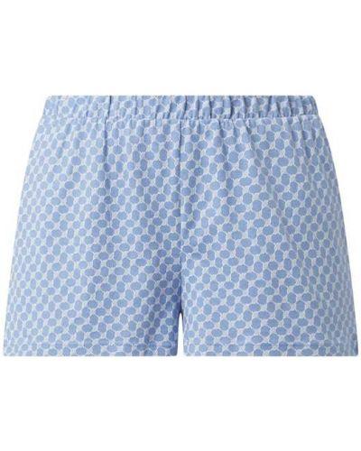 Niebieskie szorty bawełniane Joop! Bodywear