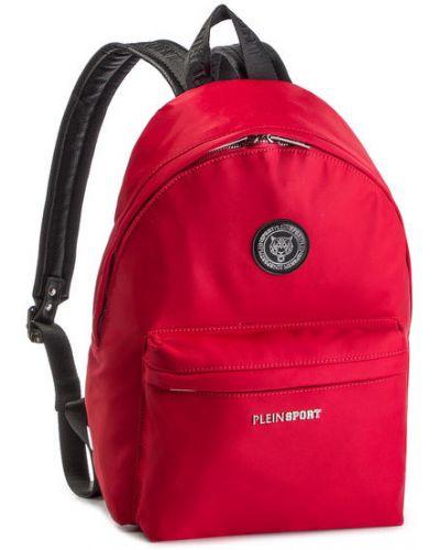 Czerwony sport plecak Plein Sport