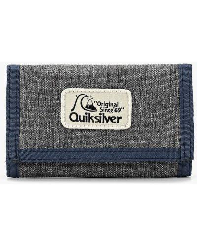 Кошелек текстильный из серебра Quiksilver