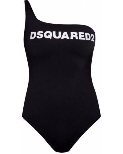 Stroj kąpielowy jednoczęściowy - czarny Dsquared2