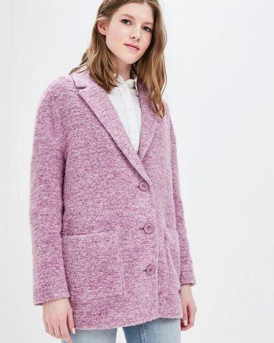 Розовое пальто оверсайз La Reine Blanche