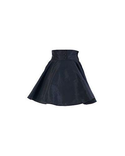 Черная юбка винтажная Valentino Red