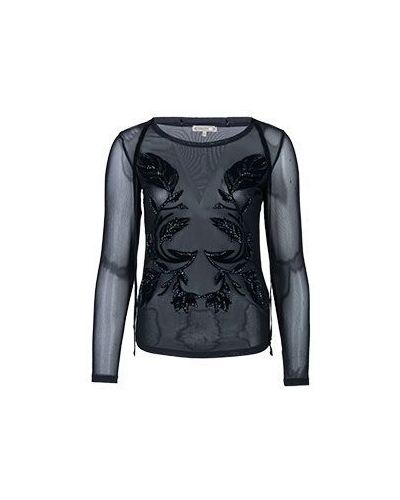 Блузка - черная Patrizia Pepe