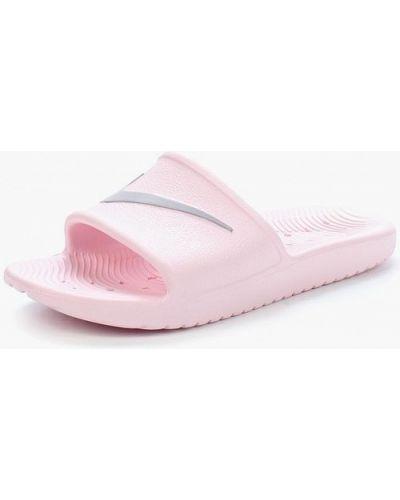 Сланцы розовый Nike