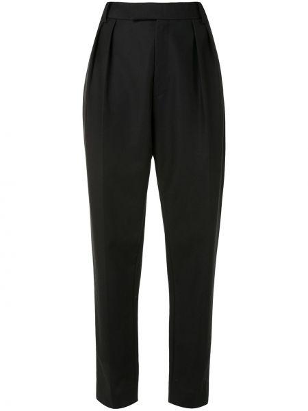 Czarny majtki z kieszeniami wysoki wzrost Khaite