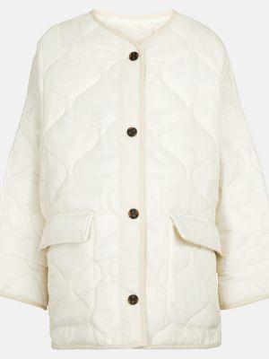 Белая стеганая куртка Frankie Shop