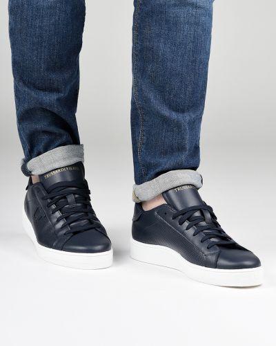 Кеды синий Trussardi Jeans