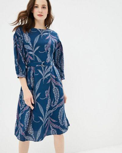 Платье осеннее прямое Sela
