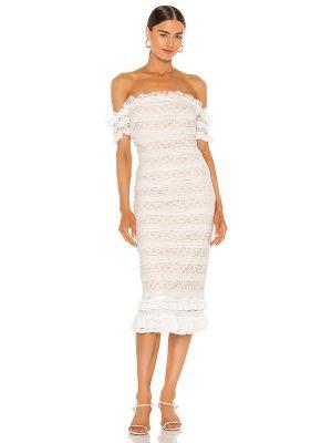 Sukienka koronkowa sznurowana z nylonu Likely