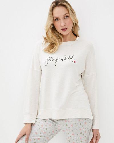 Домашняя бежевая футболка Marks & Spencer
