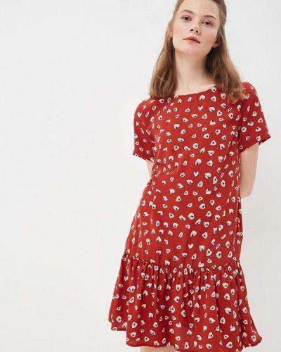 Коричневое платье Sweewe