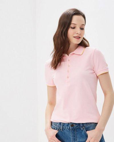 Розовое поло United Colors Of Benetton