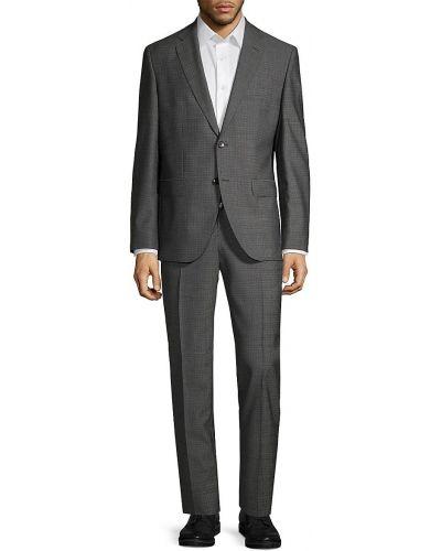Шерстяной костюм Boss Hugo Boss