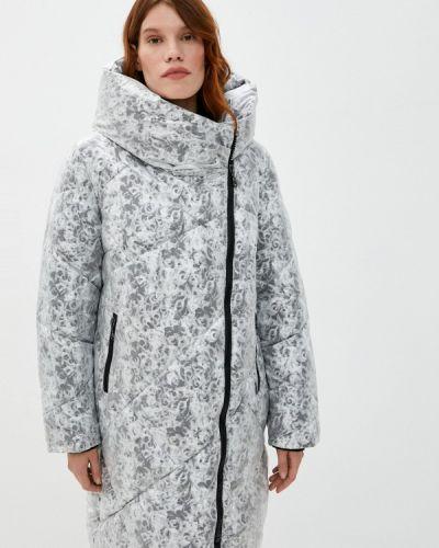 Теплая белая куртка Dixi Coat